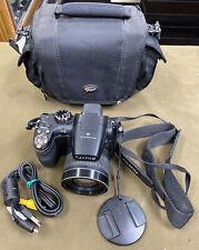Fujifilm FinePix S Series S4000 - 14.0MP Digital Camera - Black w/ Lowepro Case