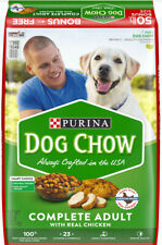 Purina Dog Chow Dry Dog Food, Complete Adult With Real Chicken, 50 lb. Bag