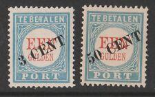 1906TG  Nederland Portzegel  P27-28, postfris mooie zegels zie foto's..