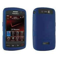 AMZER SOFT SKIN RUBBER SILICONE CASE COVER FOR BLACKBERRY STORM 9530 - BLUE