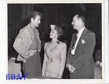 Director Richard Thorpe Jean Porter Robert Walker VINTAGE Photo