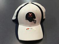 K) University of Virginia UVA Cavaliers Nike Football Blue Helmet S/M Hat