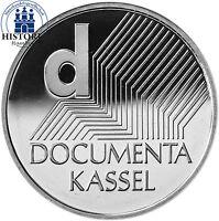 Deutschland 10 Euro DOCUMENTA 2002 Spiegelglanz Silber-Münze in Münzkapsel