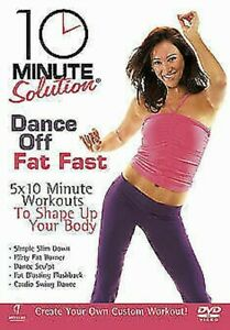 10 Minute Solution - Dance Off Fat Fast DVD NEW dvd (ABD5159)