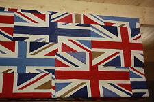 Roman Blind, Prestigious Union Jack Fabric  (Made to measure)
