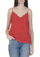 Suncoo suelto con cuello en V Top Rojo Tamaño UK 12 DH085 ll 18