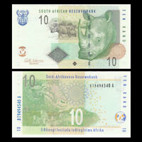 South Africa 10 Rand, ND(2009), P-128b, UNC