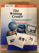 The Writing Center (Learning Company) Mac 6.07 Software