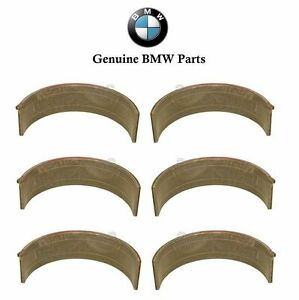 For BMW E46 M3 Z3 M Rod Bearing Set of 6 Standard 49.00 mm Red Shell Genuine