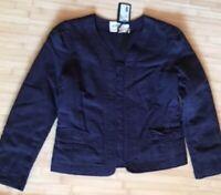 ISABEL MARANT Etoile blazer jacket quilted navy blazer jacket sz.2 /38-40
