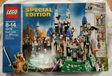 Lego Special Edition Royal Castle 10176 2007 Used Retired Complete King Knight