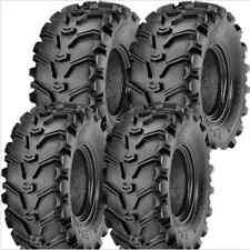 CAN AM Outlander 500 HO EFI MAX ATV Tire Set 4 Kenda Bearclaw 25X8X12 25X10X12