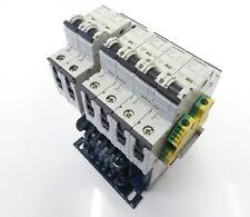 ELTRA NT 0,16-1-SA Trenn-Transformator Pri 400V Sec 230V 160VA + 6x 5SY41 MCB C2