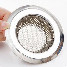 Acier Inox Cuisine Évier Passoire Plug Drainer Bouchon Filtre Filtrage Déchets