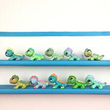 Authentic Lot 10 Littlest Pet Shop Iguana Lizard LPS Set / Iguane Lezard Petshop