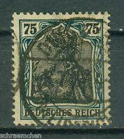 Deutsches Reich 104a , o , geprüft Infla