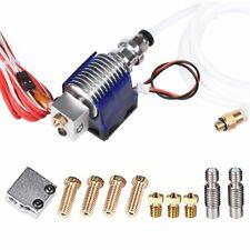 3D Printer J-head all metal V6 Hotend w/ Fan for 1.75mm 12v 0.4mm Nozzle+Volcano