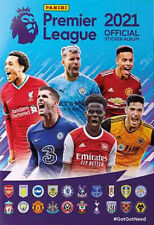 Premier League 2021 -  Hard Cover Album and 100 Sticker Packets
