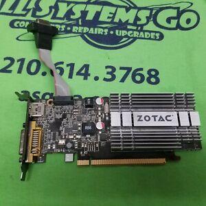 Zotac 8400GS 288-3N182-000ZT 512MB 64Bit Low Profile Video Card VGA DVI HDMI