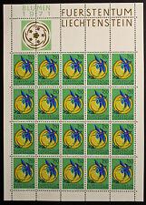 Sello LIECHTENSTEIN Stamp Yvert y Tellier nº476 x20 De Hecho De La Hoja N Y5