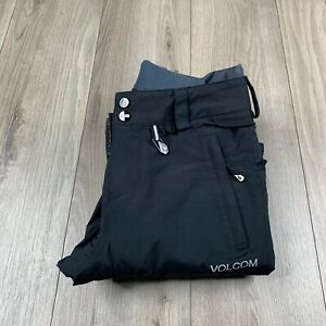 Volcom Women Omega Gore-Tex Snowboard Pants XS Black