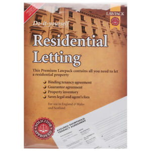 Premium Do-it-Yourself Residential Letting - LAWPACK