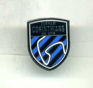 NEW  DURHAM CORINTHIANS  FC  NON LEAGUE FOOTBALL PIN BADGE
