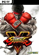 Street Fighter 5 (Pc-Dvd) Nuevo Sellado Street Fighter V