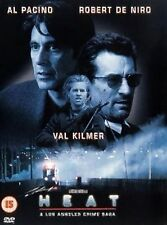 Heat (1999) Al Pacino, Robert De Niro, Val Kilmer, Jon Voight NEW UK R2 DVD
