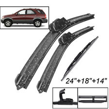 3Pcs Set Front Rear Wiper Blades For Kia Sorento BL 02/03-09/09 MK1 2002-2009