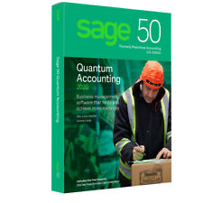 SAGE 50 1 USER Quantum 2020-NOT SUBSCRIPTION-Download (DVD opt) INT'L Users ONLY