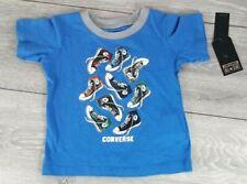 Converse Blue Graphic T Shirt Infant Boys 12 month  100% Cotton R511-27