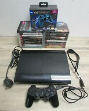 PlayStation 3 Super Slim CECH-4003A Working with 21 Games + VX3 Wired Controller