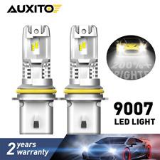 9007 HB5 LED Headlight Bulbs High Low Beam Car Light HID White 6500K 24000LM A