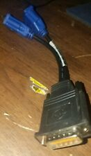 Video card adapter DMS-59 to Dual VGA