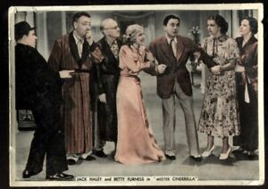Tobacco Card, Ardath, FROM SCREEN & STAGE, 1936,XL,Jack Haley,Betty Furness,#42