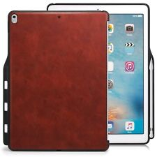 Apple iPad Pro 12.9 2017 Back Case Pencil Holder Compatible With Smart Keyboard