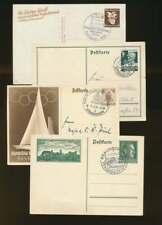 Deutsches Reich BELEGE-LOT mit Ganzsachen (75357)