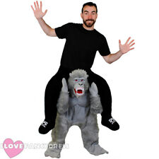 GORILLA PICK ME UP HALLOWEEN COSTUME FUNNY NOVELTY STAG DO FANCY DRESS RIDE ON