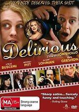 Delirious (DVD, 2009) Michael Pitt Steve Buscemi Gina Gershon