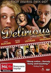 Delirious DVD 2006 INDIE MOVIE Allison Lohman, Gina Gershon Steve Buscemi