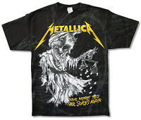 Metallica Scales All Over Print Black T Shirt New Official Merch Justice Lyrics