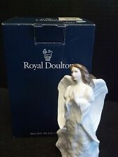 ROYAL DOULTON SENTIMENTS COLLECTION  FIGURINE CHRISTMAS ANGEL  HN 3733 w/ BOX