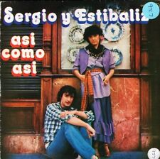"SERGIO Y ESTIBALIZ asi como asican't get you out of my mind OOX-449 7"" PS VG/EX"