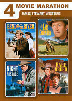 4 Movie Marathon: James Stewart Western Collection [Bend of the River / The Far