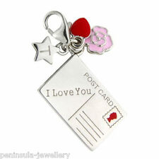 Tingle I Love You clip on Sterling Silver Charm with Gift Box SCH222