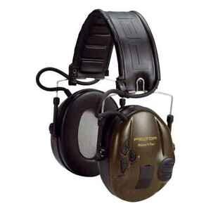 3M PELTOR SportTac Gehörschutz Faltbügel  grün & orange  STAC-GN MT16H210F-GN
