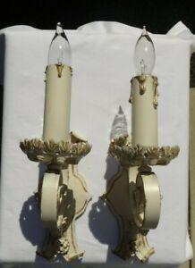 Pair Vintage Sconces