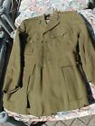 ORIGINAL WWII BRITISH OFFICER TUNIC - NAMED TO CAPTAIN - RE