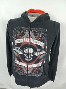 Avenged Sevenfold A7X Black Hoodie Sweatshirt Sz M Welcome to the Family Bravado